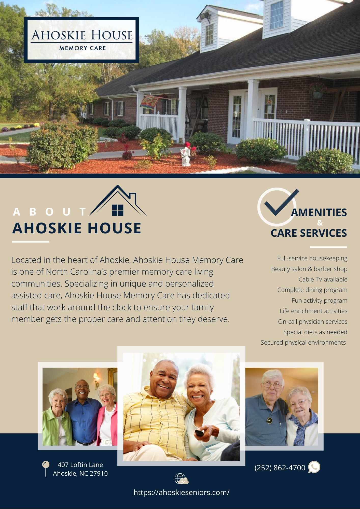 Ahoskie One-Pager